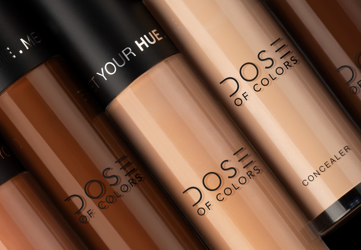 DOSE Of COLORS' New Meet Your Hue Concealer Is The Perfect Complement To Its Just-Launched Foundation — EXCLUSIVE