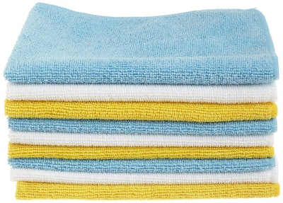AmazonBasics Microfiber Cleaning Cloth (24-Pack)