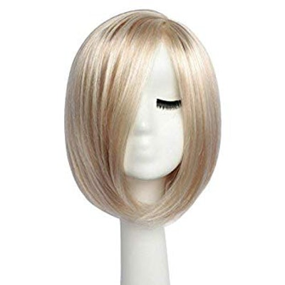 BESTUNG Girl's Sexy Side Part Bob Wig
