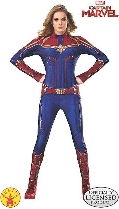 Rubie's Captain Marvel Hero Suit Adult Costume