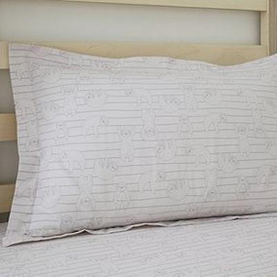 Sloth Oxford Pillowcase