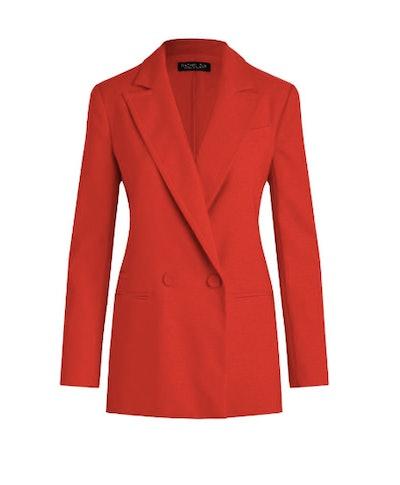Giorgia Hopsack Suiting Blazer