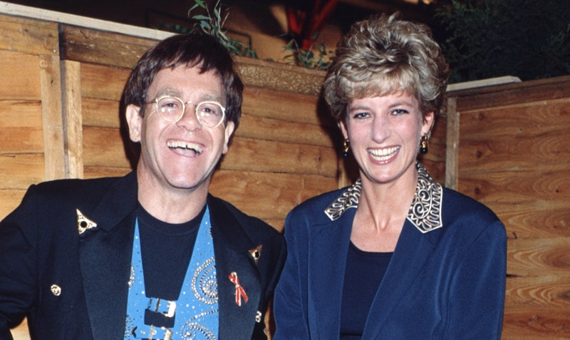 Elton John's Instagram About Princess Diana Will Make Your Heart Hurt