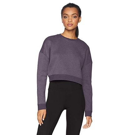 Core 10 Motion Tech Fleece Cropped Sweatshirt