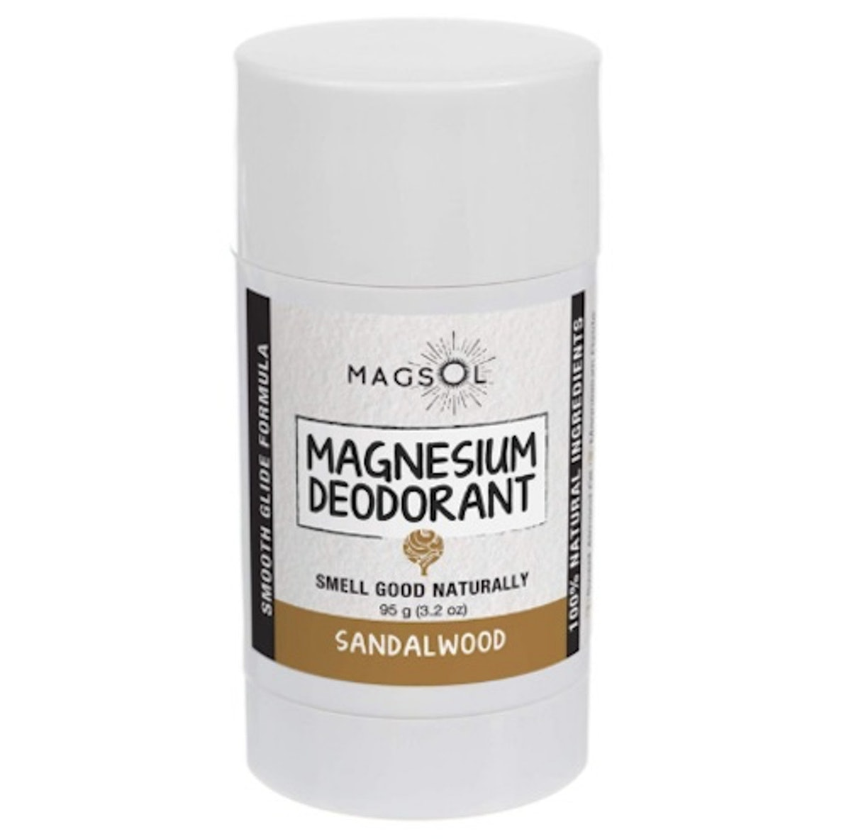 MagSol Organics Sandalwood Magnesium Deodorant