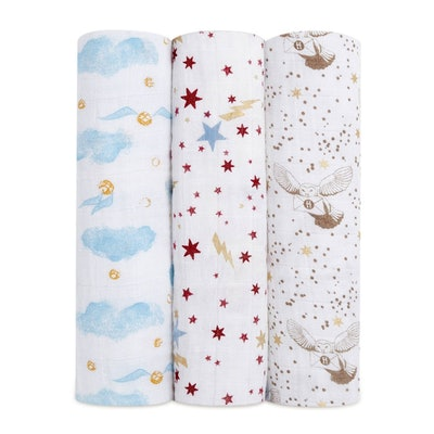 """Harry Potter 47"""" Classic Swaddle 3-Pack"""