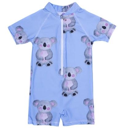 Blue Koala Unisex Zip Swimmers