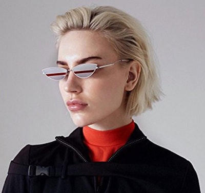 FEISEDY Retro Fashion Sunglasses