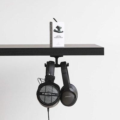 Elevation Lab Under-Desk Headphone Stand Mount