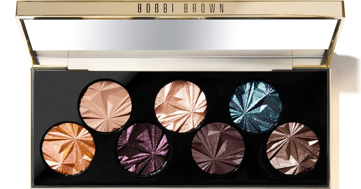Bobbi Brown's New Luxe Gems Eyeshadow Palette Will Have You Wishing The Holidays Would Come Early
