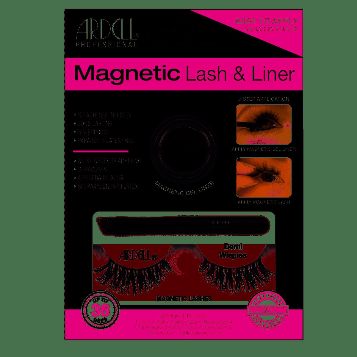 Magnetic Liner & Lash Demi Wispies