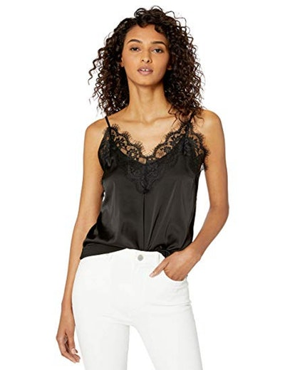 The Drop Natalie Lace Trimmed Camisole