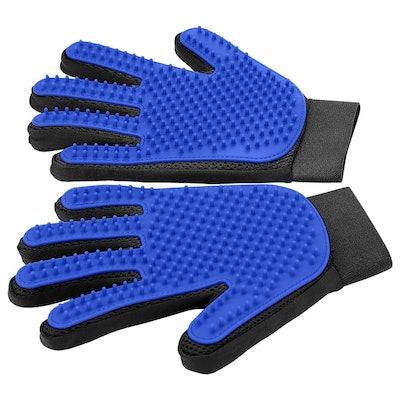 DELOMO Pet Grooming Gloves