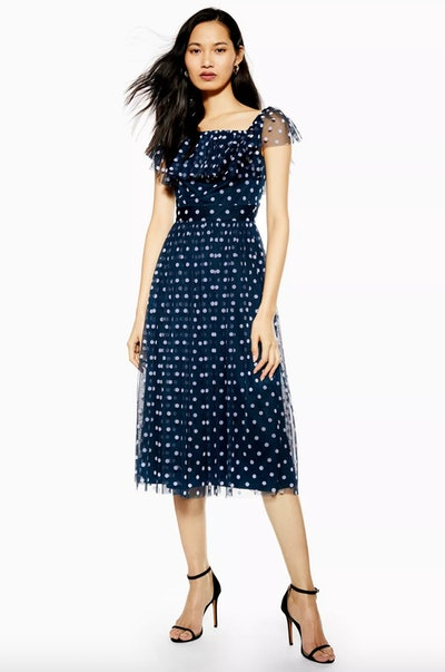 Tulle Polka Dress By Lace & Beads