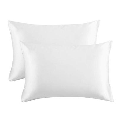 Bedsure Satin Pillowcase Queen Size (2-Pack)