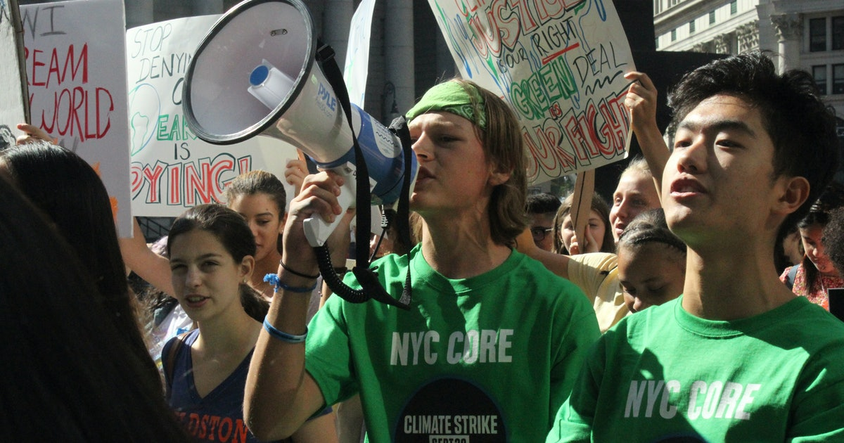 8 youth climate strikers on why they're protesting