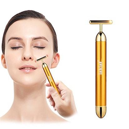 Inkint Beauty Bar 24k Golden Pulse Facial Massager