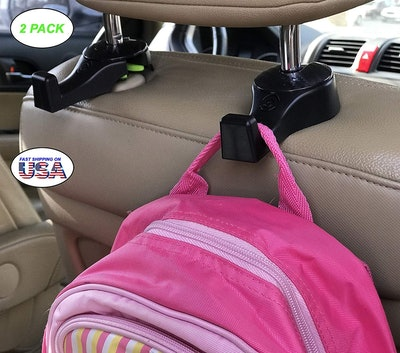i-SMART Car Headrest Hook (2-Pack)