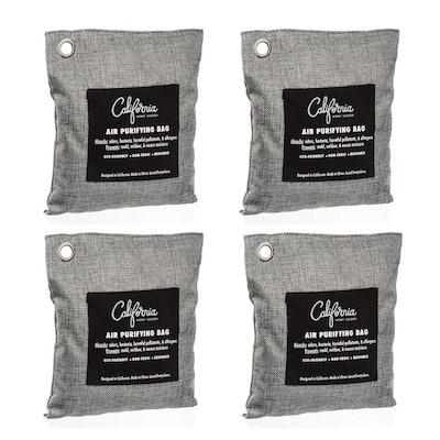 California Home Good Air Purifying Charcoal Bag (4-Pack)
