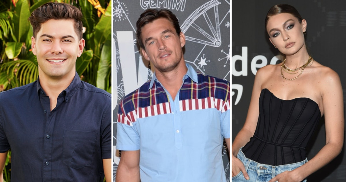 Dylan Barbour's Quote About Tyler Cameron & Gigi Hadid Spilled All The Beans