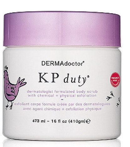 KP Duty Dermatologist Formulated Body Scrub with Chemical + Physical Exfoliation