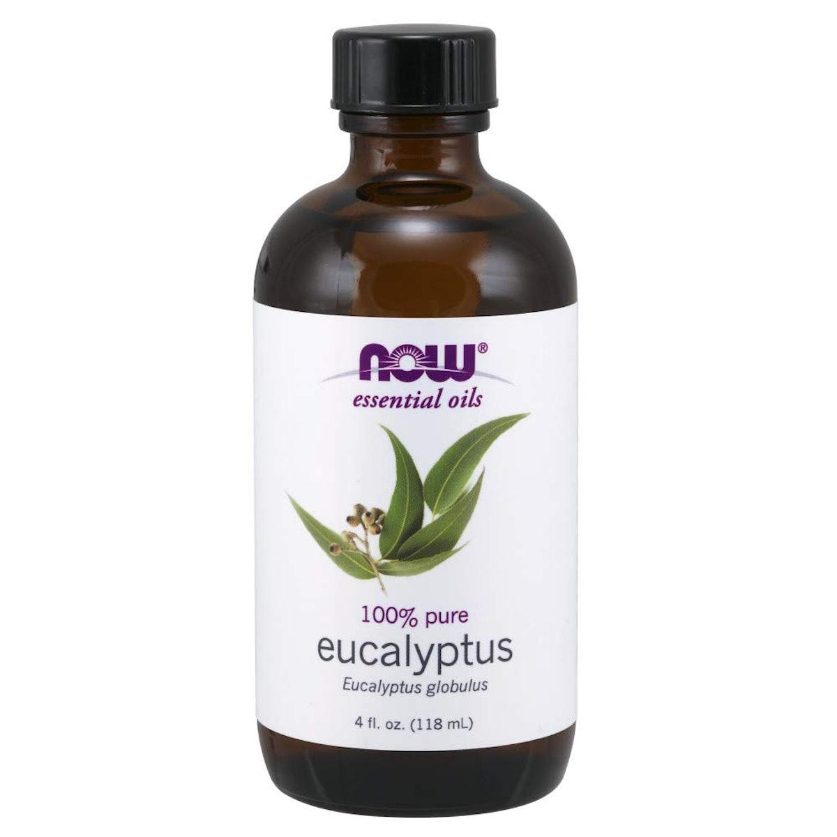 NOW 100% Pure Eucalyptus Oil (4 Oz/ 118 mL)