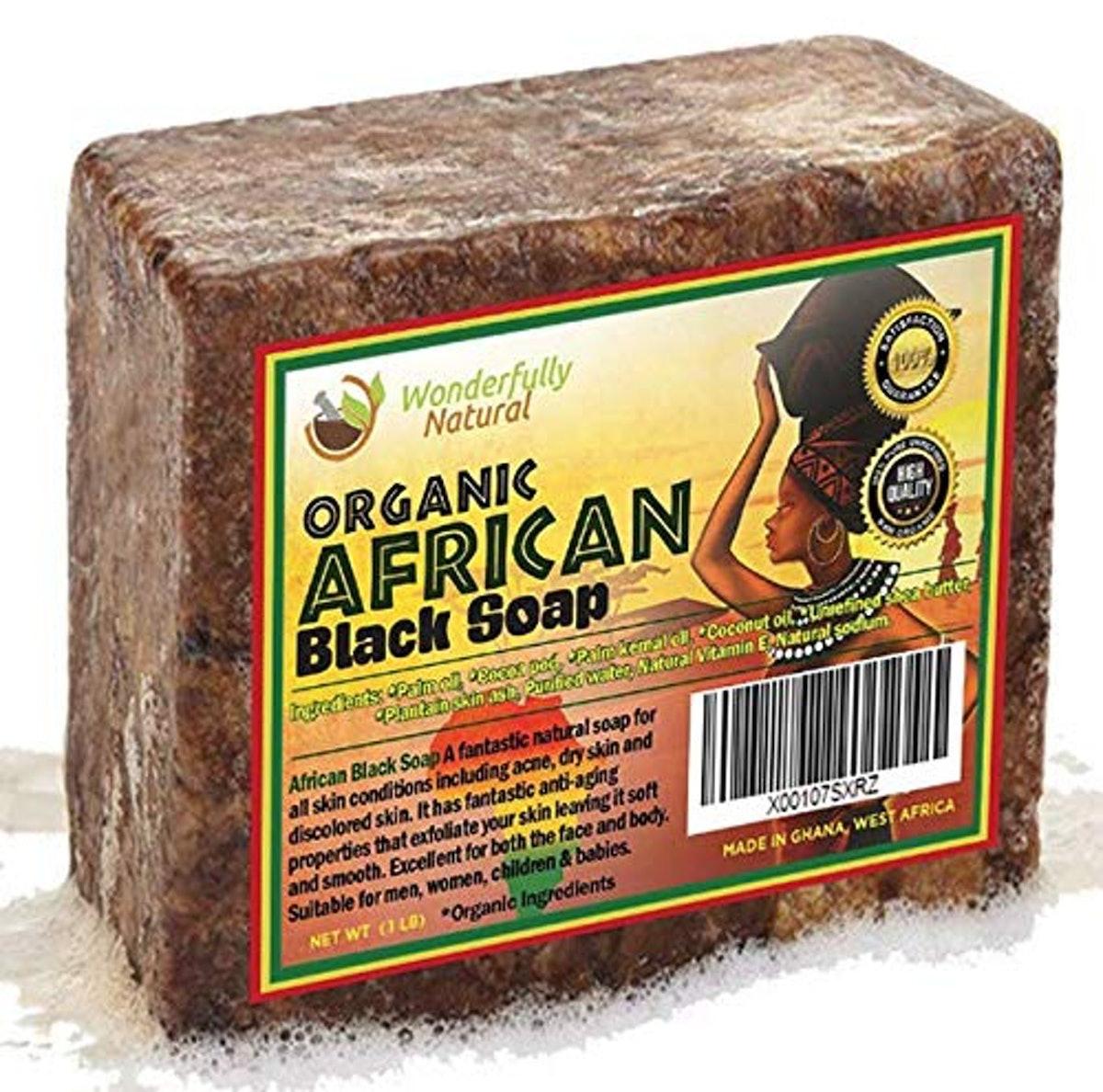 Wonderfully Natural African Black Soap