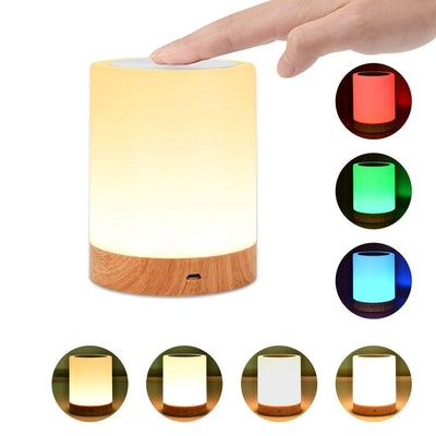 Portable Rechargeable Color Changing Touch Lamp