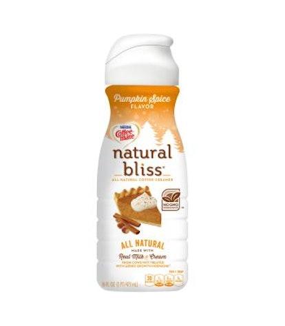 Coffee Mate Natural Bliss Pumpkin Spice Coffee Creamer