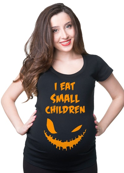 Halloween Maternity Funny T-Shirt
