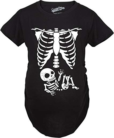 Maternity Skeleton T-Shirt