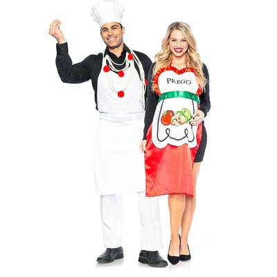 Pasta Chef and Prego Couples Costume