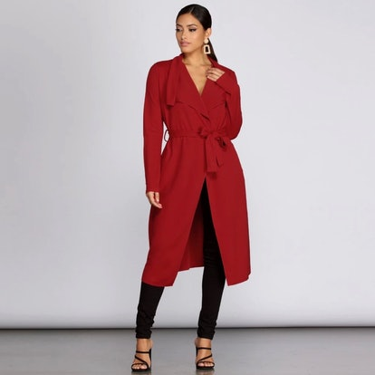 Runaway With Me Trench Duster