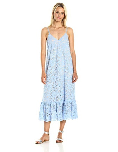 PARIS SUNDAY Lace Slip Dress