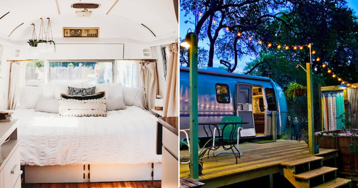 6 Airstreams On Airbnb That Are So Cool & Cozy For Your Next Baecation