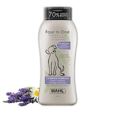 Wahl 4-In-1 Calming Pet Shampoo (24 Oz.)