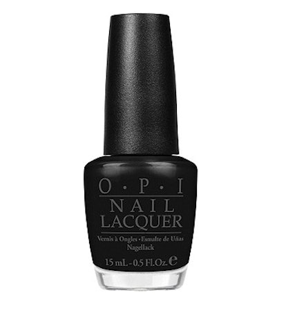 OPI  Black, White, & Gray Nail Lacquer Collection in Black Onyx