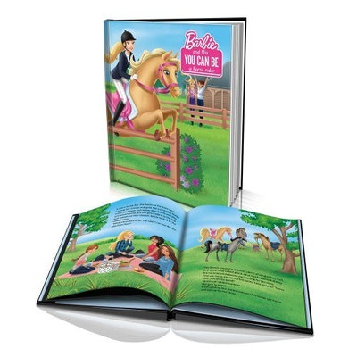'Barbie You Can Be a Horse Rider' Personalized Story Book