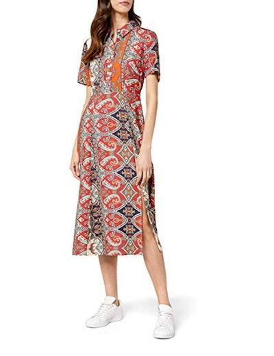 find. Midi Shirt Dress