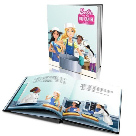 'Barbie You Can Be a Chef' Personalized Story Book