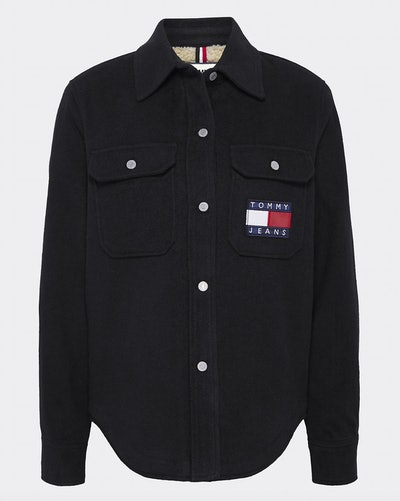 Tommy Jeans Sherpa Lined Shirt Jacket
