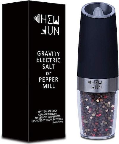 Chew Fun Electric Gravity Pepper Grinder Or Salt Mill