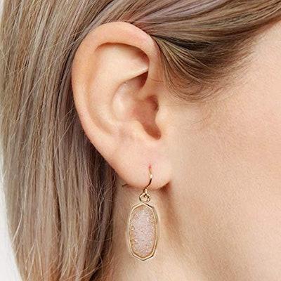 ISAACSONG Crystal Drop Earring