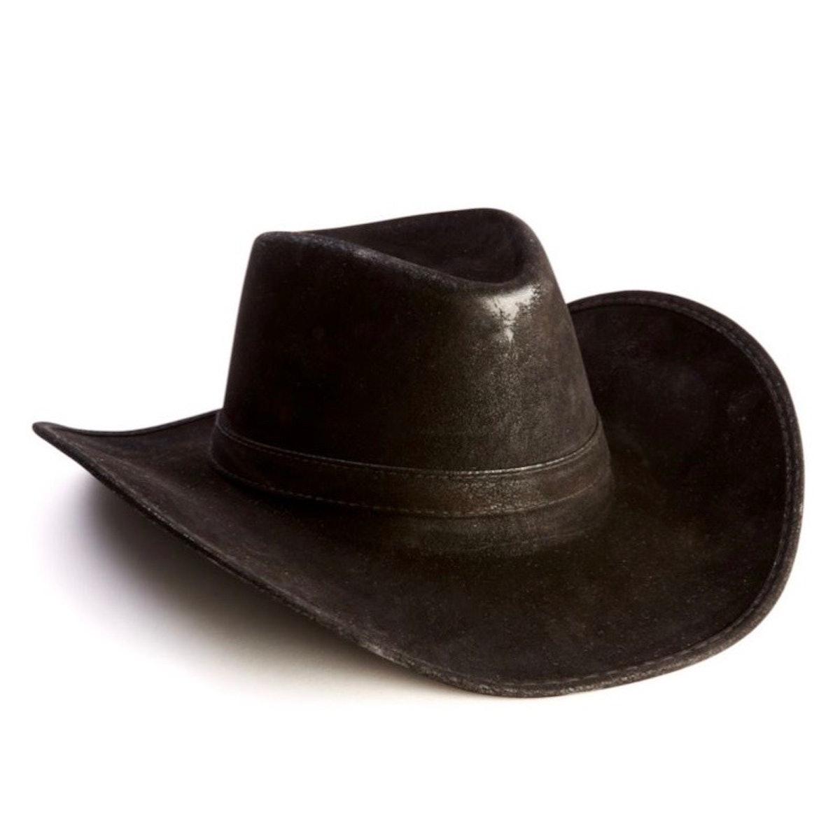 Black Cowboy Hat - Deluxe