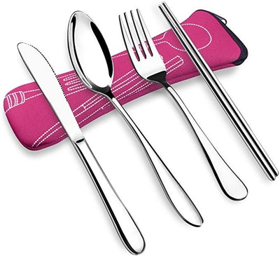 VICBAY Stainless Steel Flatware Set (4-Piece Set)