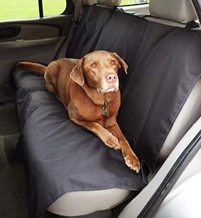 AmazonBasics Waterproof Car Back Bench Seat Cover