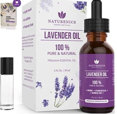 Naturenics Premium Lavender Essential Oil (30 mL)
