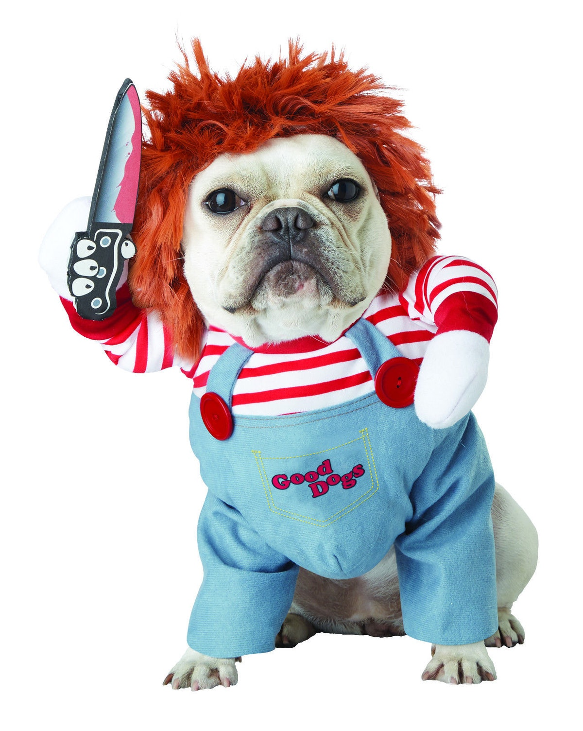 Chucky Deadly Doll Dog Pet Costume