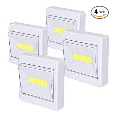TBTeek Closet Light (4-Pack)