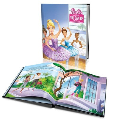 'Barbie You Can Be a Ballerina' Personalized Story Book